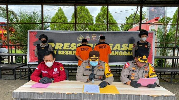 Wakapolres Sanggau Pimpin Press Release ungkap Kasus Curanmor, Ini Tersangka dan Barang Buktinya