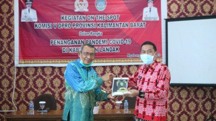 Komisi V DPRD Kalbar Kunjungan Kerja ke Landak, Bahas Persoalan Pandemi Covid-19