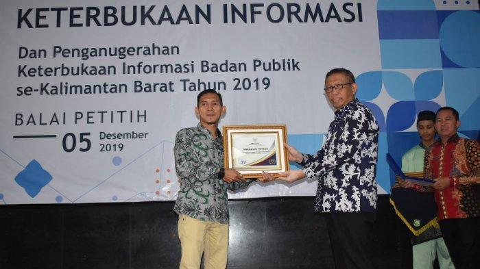 Bawaslu Kota Pontianak Peringkat 1 Badan Publik Informatif
