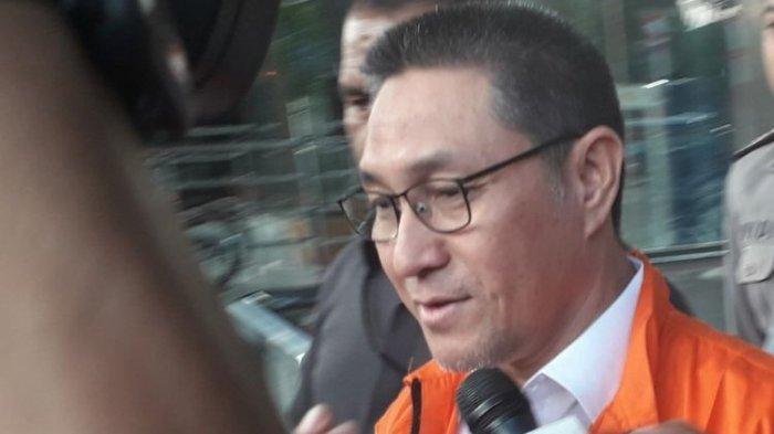 Pakai Rompi Orange Keluar KPK, Ini Ucapan Pertama Sukiman saat Ditanya Wartawan?