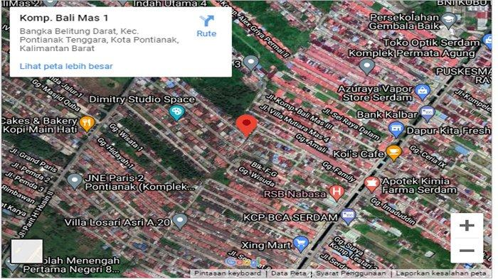 BREAKING NEWS - Kebakaran di Bali Mas 1 Pontianak! Jalan Sungai Raya Dalam Macet