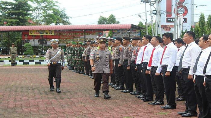Wakapolres Sanggau Pimpin Apel Operasi Keselamatan 2019