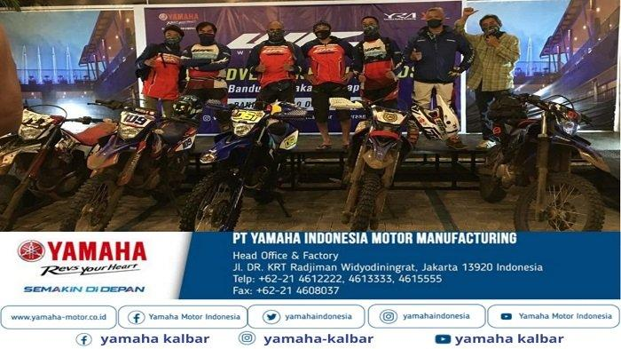 """Komunitas WR Owners Indonesia (WOI) menggelar WR 155 R Community Touring """"trail adventure and friendship""""."""