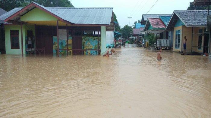 14.889 Warga di 47 Desa Kabupaten Kapuas Hulu Terdampak Banjir