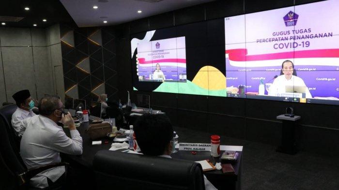 Terkait New Normal, Gubernur Kalbar Lakukan Video Conference Bersama PresidenJokowi