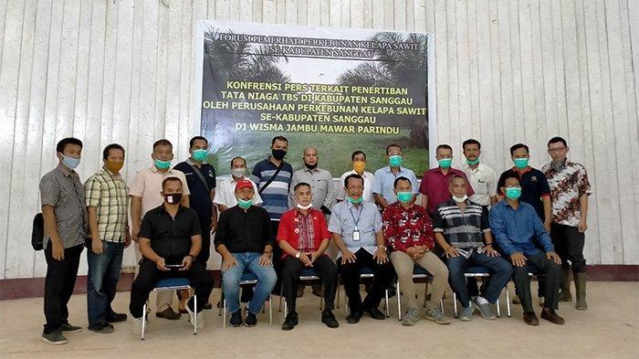 Forum Komunikasi Perkebunan dan Koperasi Sawit Sanggau Harap Penertiban Tata Niaga TBS