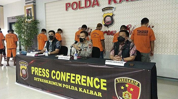 Presiden Instruksikan Tumpas Kejahatan Jalanan, Polda Kalbar Ringkus 638 Tersangka