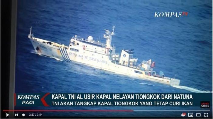 Konflik Natuna Terbaru - Kemenlu RI Tegaskan Kapal Asing China Sudah Pergi dari ZEE Indonesia