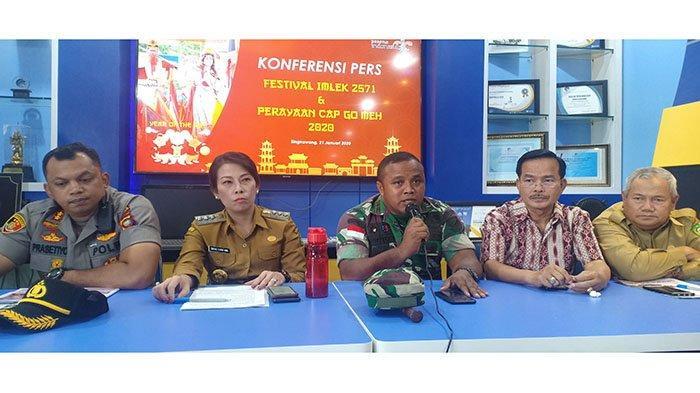 TNI Siap Dukung Pengamanan Festival Imlek 2571 dan Cap Go Meh 2020 Kota Singkawang