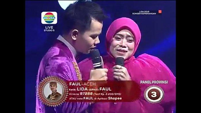 Konser Kemenangan LIDA 2019, Duet Memukau Faul & Lesti  'Lebih dari Selamanya', Juri Berdecak Kagum!