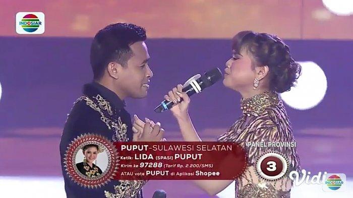 Konser Kemenangan LIDA 2019, Duet Puput & Fildan Bawakan 'Mimpi Terindah' Rebut Hati Juri Berikan SO