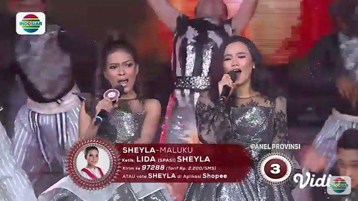 Konser Kemenangan LIDA 2019, Duet Sheyla & Aulia Bawakan 'Kucing Garong' Hipnotis Juri dan Penonton