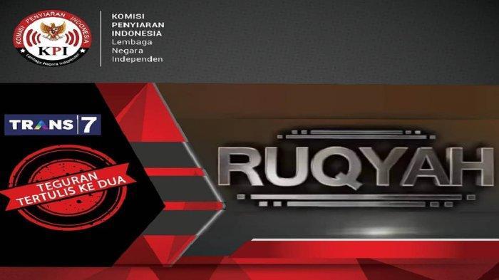 KPI Sanksi Keras Program Ruqyah Trans7 Setelah Tayangkan Adegan yang Dilarang