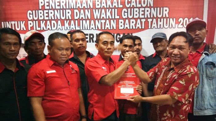 Kembalikan Berkas, Ini Peluang Lasarus Dapat Rekomendasi di DPP PDIP Maju di Pilgub Kalbar