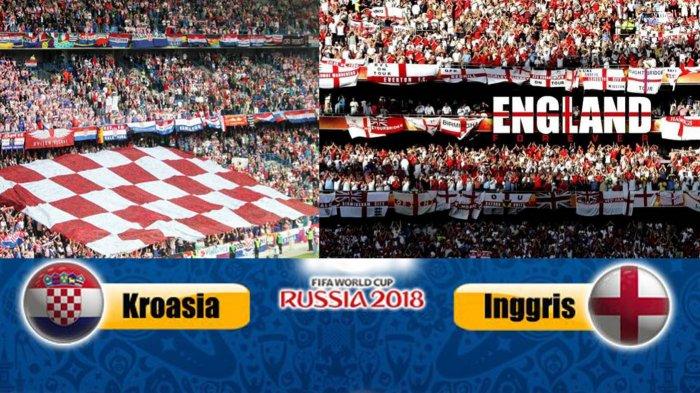 LIVE Babak II Inggris Vs Kroasia di TransTV, Babak I Inggris Unggul! Live Streaming dengan Cara Ini