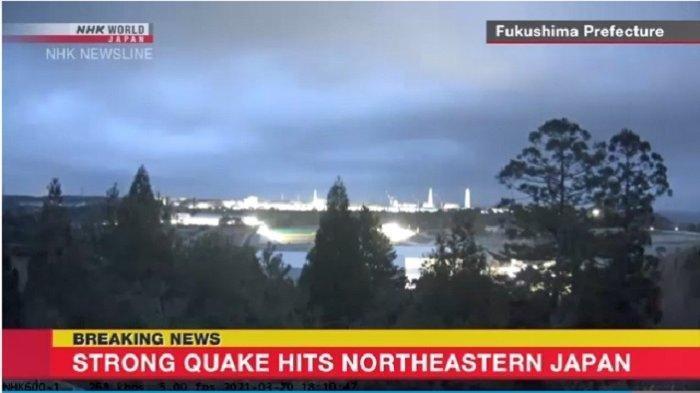 KRONOLOGI Jepang Dihantam Tsunami Usai Gempa Bumi dengan Magnitudo 7,2 Landa Pantai Prefektur Miyagi