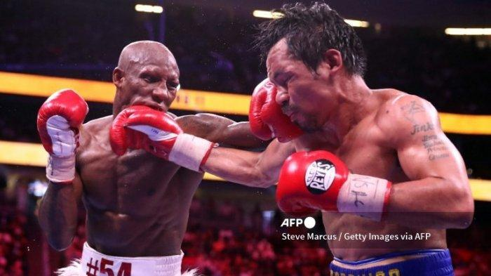 Kronologi Manny Pacquiao Tumbang Lawan Yordenis Ugas hingga Ronde 12, Gagal Rebut Sabuk Juara WBA