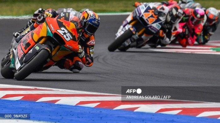 KTM Perkasa! Raul Fernandez Juara di Hasil Moto2 San Marino 2021, Remy Gardner Kedua