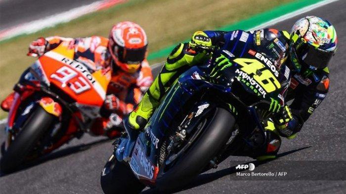 UPDATE Klasemen MotoGP Terbaru Hari Ini Jelang MotoGP Portugal 2021, Kans Marquez Salip Rossi