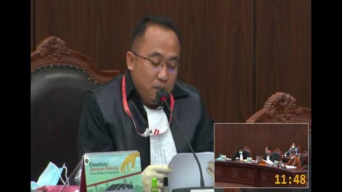 Sidang Perdana, Perbaikan Permohonan Kuasa Hukum Rupinus-Aloysius Ditolak Hakim MK