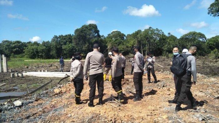 Wakapolres Kompol Sandhy Lakukan Pengecekan Persiapan Rencana Mako Polres Kubu Raya