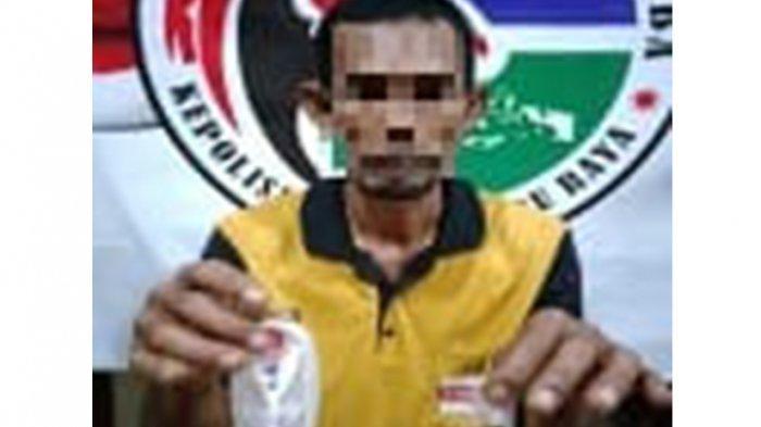 Kedapatan Bawa Sabu, Warga Terentang Ditangkap Polisi