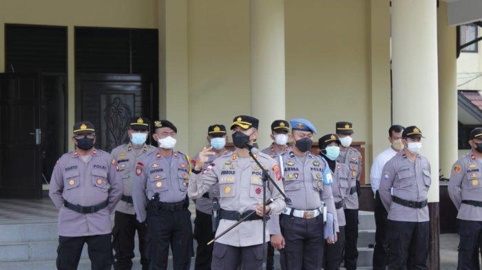 Kapolres Jerrold H Y Kumontoy Targetkan 70 Persen Masyarakat Kubu Raya Sudah Vaksin