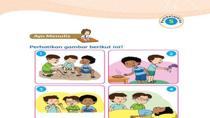 KUNCI JAWABAN Tema 1 Kelas 3 Halaman 37 38 39 40 41 42 43 44 Subtema 1, Aturan Sebelum Makan