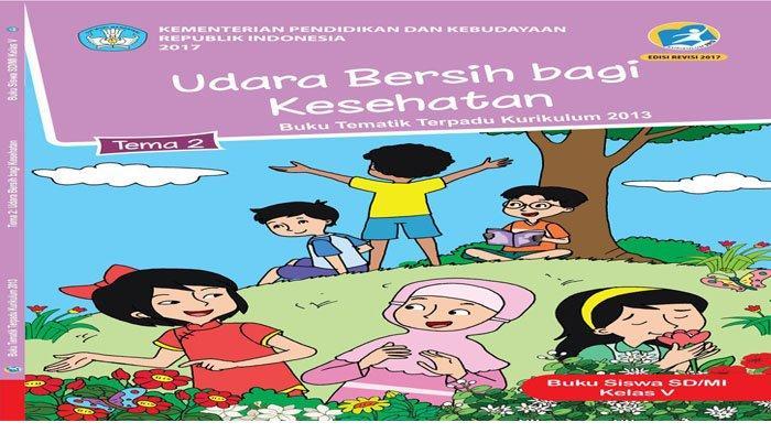 KUNCI JAWABAN Tema 2 Kelas 5 Halaman 114 113 Subtema 3 Memelihara Kesehatan Organ Pernapasan Manusia