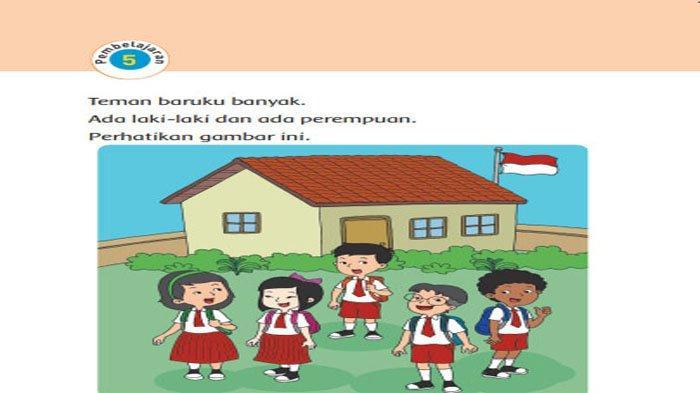 KUNCI JAWABAN Tema 1 Kelas 1 Halaman 22 23 24 25 26 27 28 Subtema 1 Pembelajaran 5 Aku & Teman Baru