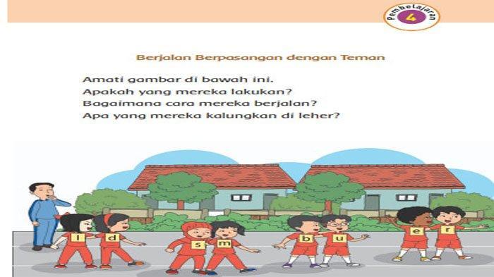 KUNCI JAWABAN Tema 1 Kelas 1 Halaman 19 20 21 Subtema 1 Pembelajaran 4 Aku dan Teman Baru