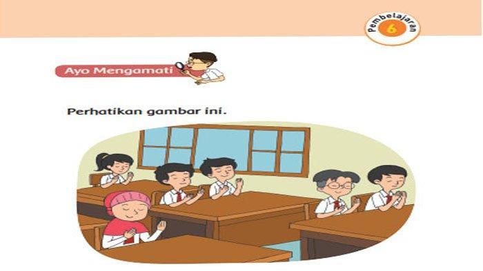 KUNCI JAWABAN Tema 1 Kelas 1 Halaman 29 30 31 32 33 34 35 Subtema 1 Pembelajaran 6 Aku & Teman Baru
