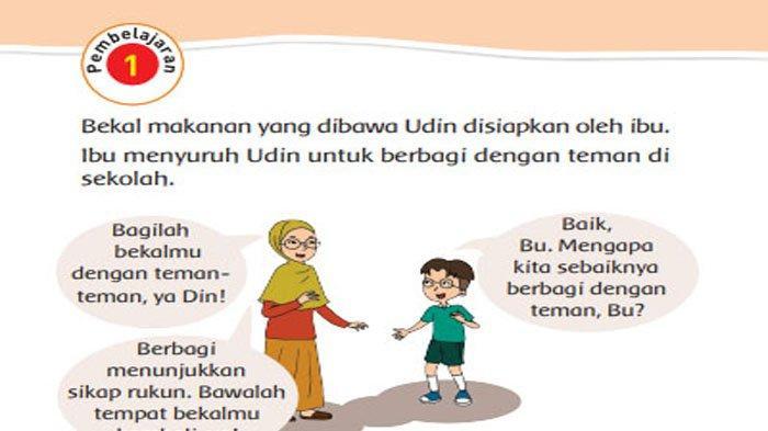 KUNCI JAWABAN Tema 1 Kelas 2 Halaman 98 99 100 101 102 103 104 105 Subtema 3 Hidup Rukun di Sekolah