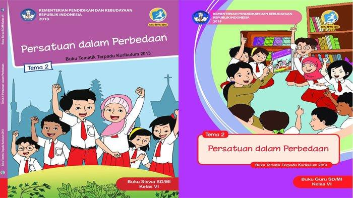 KUNCI JAWABAN Tema 2 Kelas 6 Halaman 126 127 128 & 123 124 125 Subtema 3 Persatuan dalam Perbedaan