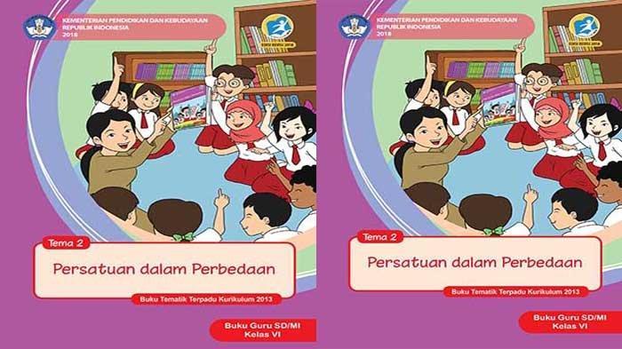 KUNCI JAWABAN Tema 2 Kelas 6 Halaman 98 97 96 95 Subtema 2 Persatuan dalam Perbedaan