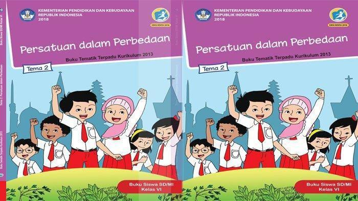 KUNCI JAWABAN Tema 2 Kelas 6 Halaman 137 138 139 140 141 142 Subtema 3 Persatuan dalam Perbedaan