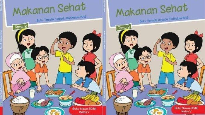 Kunci Jawaban Kelas 5 Halaman 23 24 25 26 Tema 3 Subtema 1 Pembelajaran 1 Buku Tema Makanan Sehat Tribun Pontianak