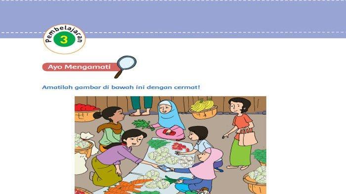 KUNCI JAWABAN Tema 3 Kelas 5 Halaman 58 59 60 61 62 63 Subtema 2 Pembelajaran 3 Makanan Sehat