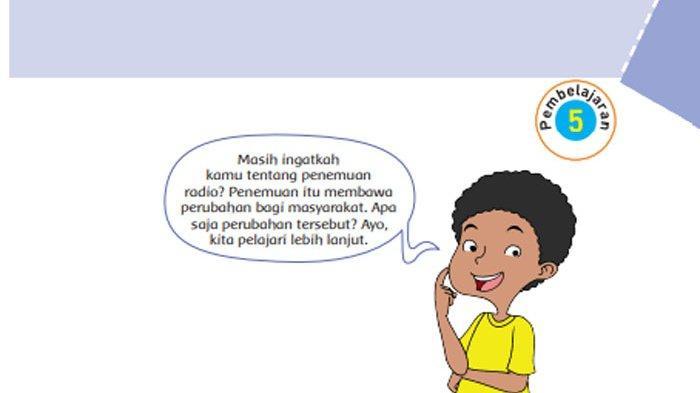 KUNCI JAWABAN Tema 3 Kelas 6 Halaman 143 144 145 146 147 Subtema 3 Pembelajaran 5 Tokoh dan Penemuan