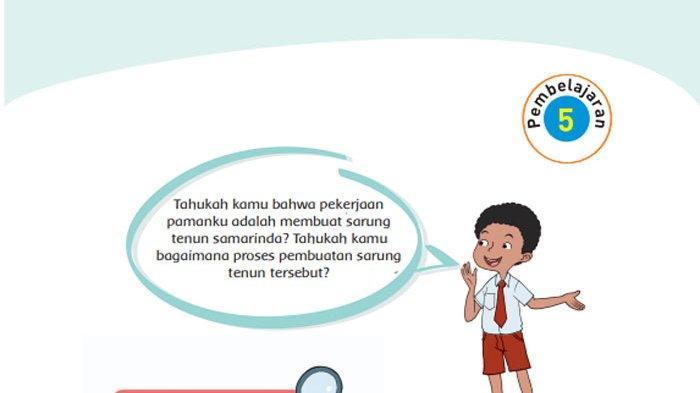 KUNCI JAWABAN Tema 4 Kelas 4 Halaman 125 126 127 128 129 130 131 Subtema 3 Pekerjaan Orang Tuaku