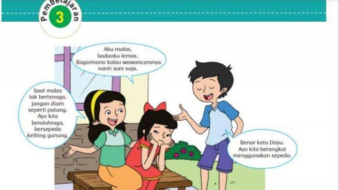 Kunci Jawaban Tema 4 Kelas 5 Halaman 53 54 55 56 Jawaban Buku Tema Sd Subtema 2 Sehat Itu Penting Tribun Pontianak
