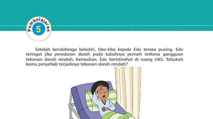 KUNCI JAWABAN Tema 4 Kelas 5 Halaman 80 81 82 83 84 85 Subtema 2 Pembelajaran 5 Gangguan Kesehatan