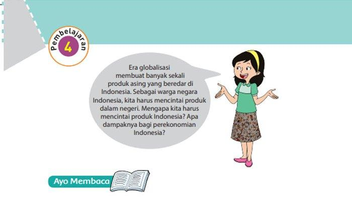 KUNCI JAWABAN Tema 4 Kelas 6 Halaman 119 120 121 122 123 Subtema 3 Globalisasi dan Cinta Tanah Air