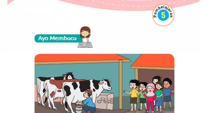 Apakah Manfaat Teknologi Pangan dalam Pengolahan Susu Sapi ? Kunci Jawaban Tema 7 Kelas 3 Halaman 41