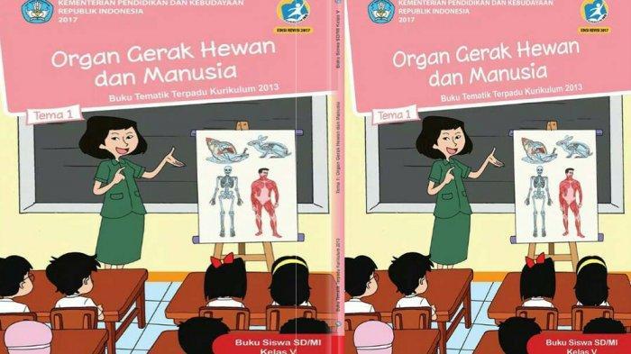 Kunci Jawaban Soal Ulangan Pas Uas Semester Ganjil Sd Kelas 5 Tema 1 Organ Gerak Hewan Dan Manusia Tribun Pontianak