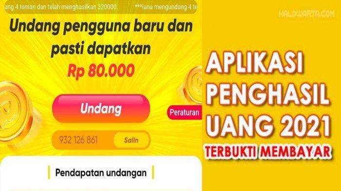 Aplikasi penghasil uang Snack Video