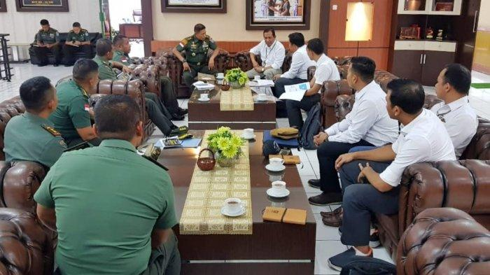 Kunjungi Pangdam Tangjungpura, PLN Bahas Pembangunan SUTT 150 kV Ketapang-Kendawangan