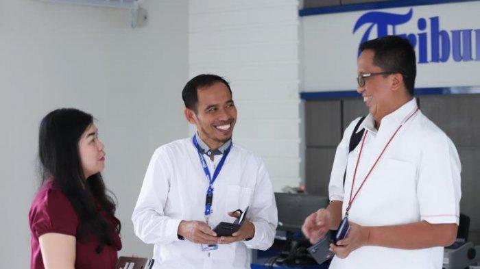 FOTO: GM PLN UIW Kalimantan Barat, Agung Murdufi saat Berkunjung ke Kantor Tribun Pontianak - kunjungan-pln1.jpg