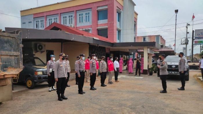 Kunjungan Kerja ke Polsek Tayan Hulu, Ini Penekanan Kapolres Sanggau kepada Personel