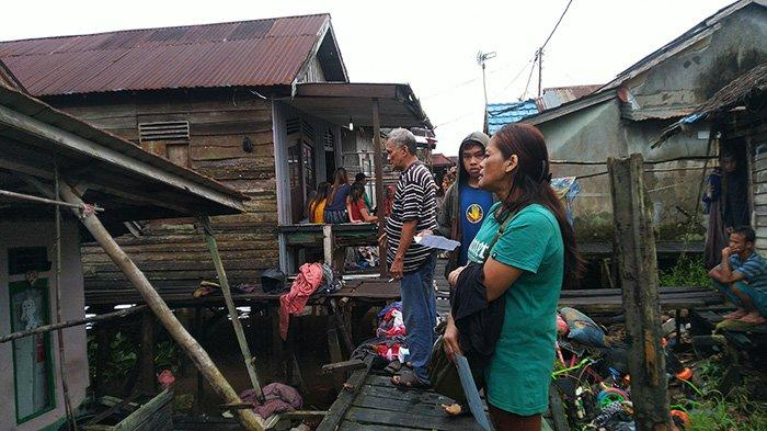 Rumah Warga di Pontianak Timur Roboh, Begini Kesaksian Tetangga Korban